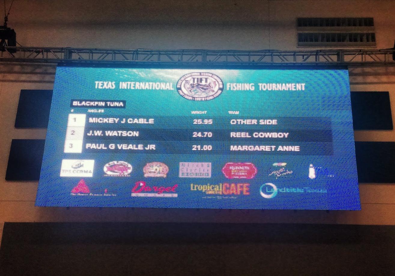 Live Scoreboard Indoors